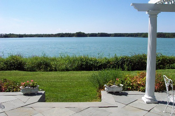 mill pond lane hamptons waterfront home for sale