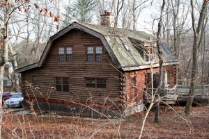 hamptons log cabin real estate for sale